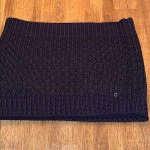 Lululemon Athletica blanket infinity scarf..